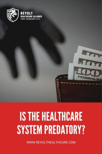 Is the Healthcare System Predatory?